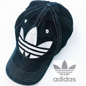 Adidas   VINTAGE   Dark Denim Hat